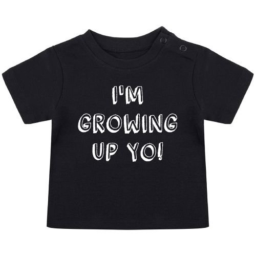 KIDZ DISTRICT GROWING UP BIRTHDAY BABY T-SHIRT