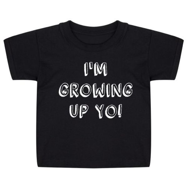 GROWING UP BIRTHDAY KIDS T-SHIRT