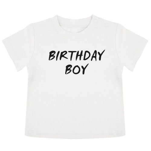 KIDZ DISTRICT BIRTHDAY BOY BABY T-SHIRT