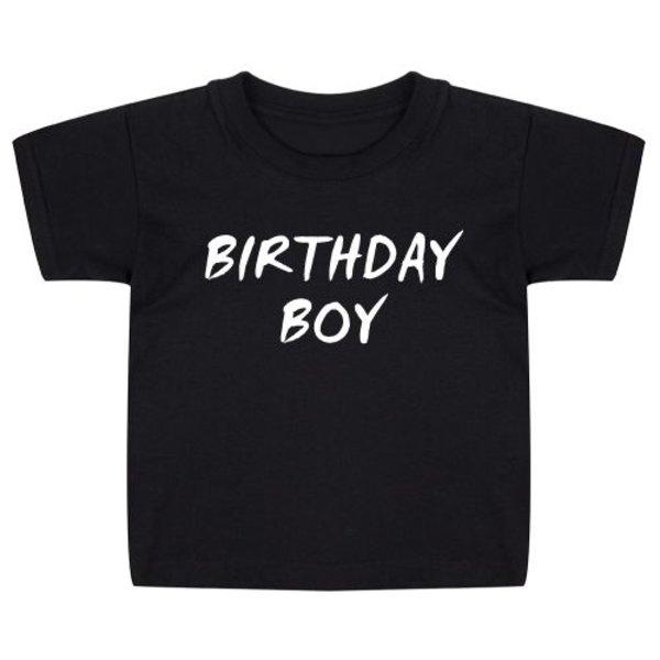 BIRTHDAY BOY KIDS T-SHIRT