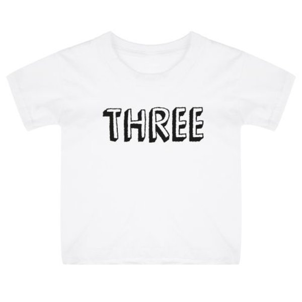 AGE BIRTHDAY KIDS T-SHIRT