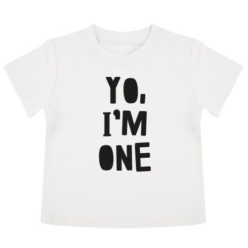 KIDZ DISTRICT YO BIRTHDAY BABY T-SHIRT