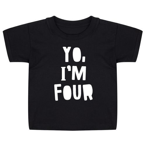 KIDZ DISTRICT YO BIRTHDAY KIDS T-SHIRT