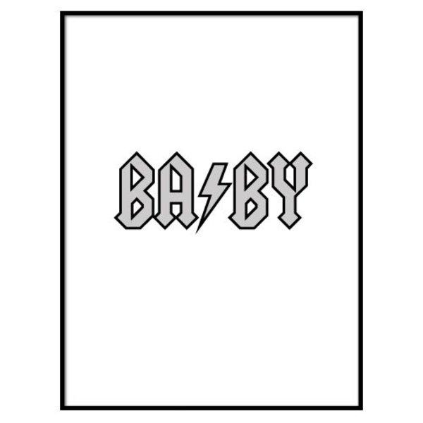 BABY THUNDER POSTER