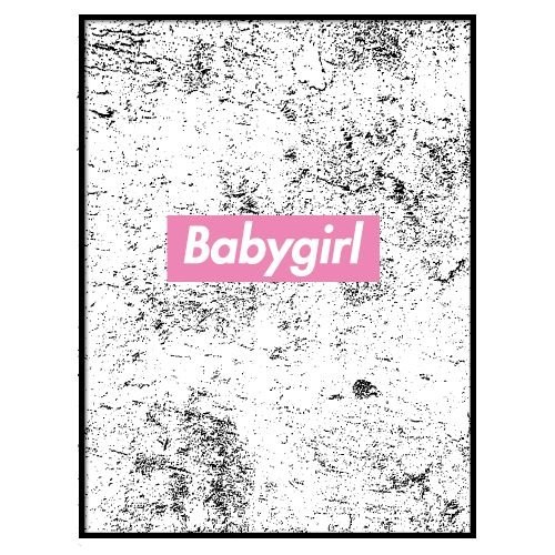 KIDZ DISTRICT BABYGIRL POSTER