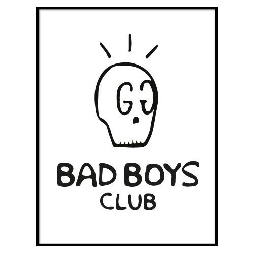 KIDZ DISTRICT BAD BOYS CLUB POSTER