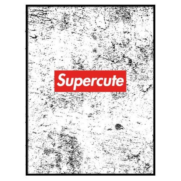 SUPERCUTE POSTER