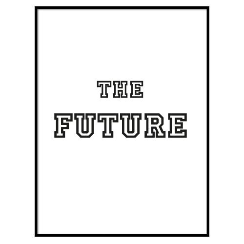 KIDZ DISTRICT THE FUTURE POSTER