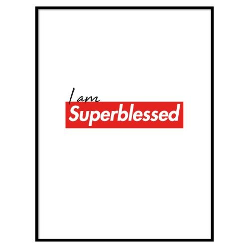 KIDZ DISTRICT SUPERBLESSED POSTER