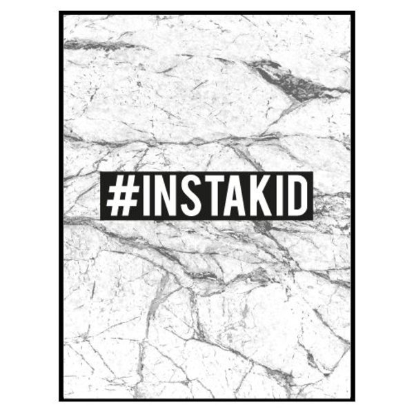#INSTAKID MARBLE POSTER