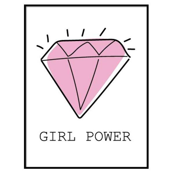 DIAMOND GIRL POWER POSTER