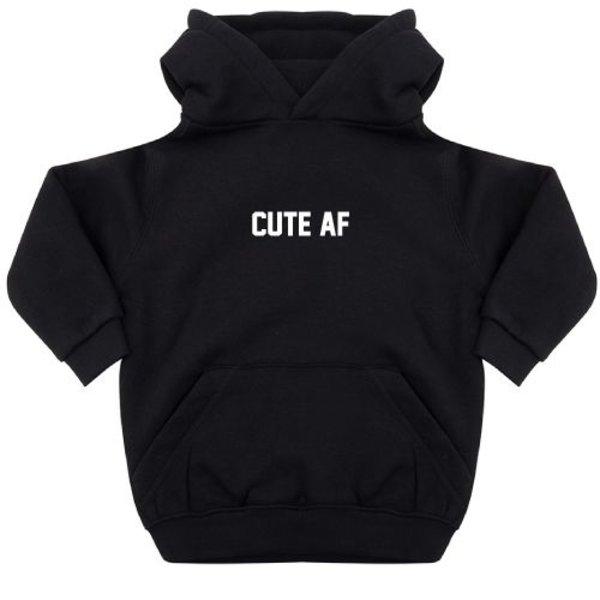 CUTE AF KIDS HOODIE