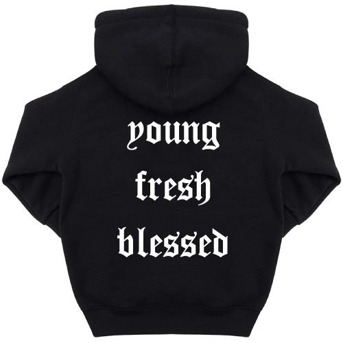 KIDZ DISTRICT YOUNG FRESH BLESSED KIDS HOODIE