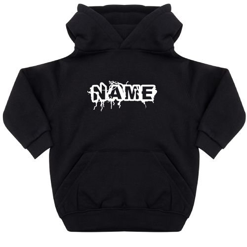 KIDZ DISTRICT THUNDER NAME KIDS HOODIE (GEPERSONALISEERD)