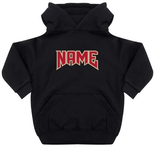 KIDZ DISTRICT ROCK NAME KIDS HOODIE (GEPERSONALISEERD)