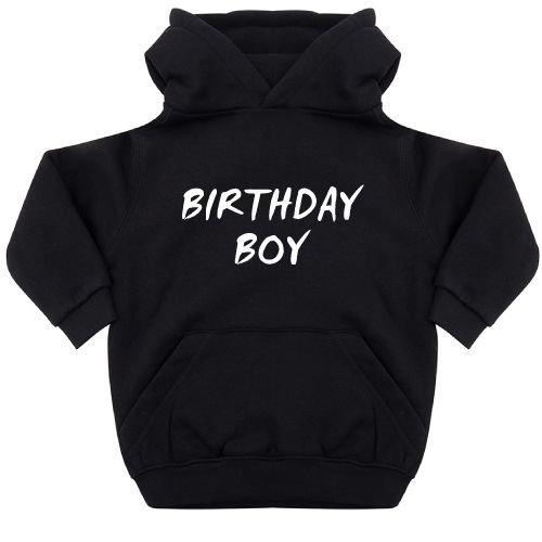 KIDZ DISTRICT BIRTHDAY BOY KIDS HOODIE