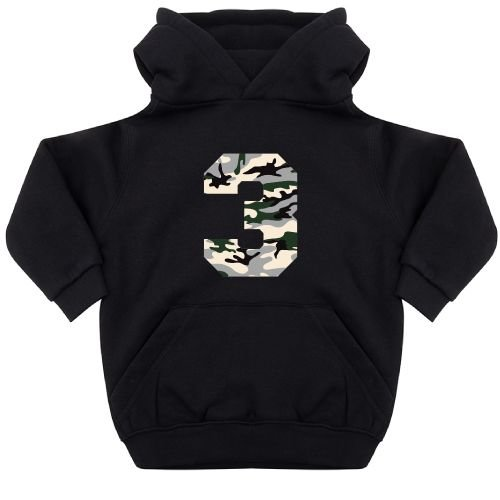 KIDZ DISTRICT CAMO BIRTHDAY KIDS HOODIE