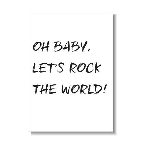 KIDZ DISTRICT LET'S ROCK THE WORLD KAART