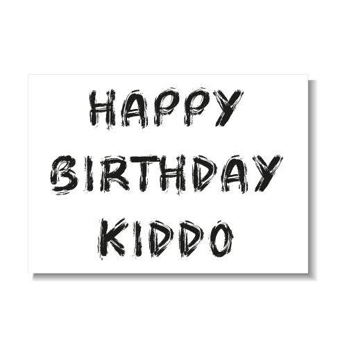 KIDZ DISTRICT HAPPY BIRTHDAY KIDDO KAART