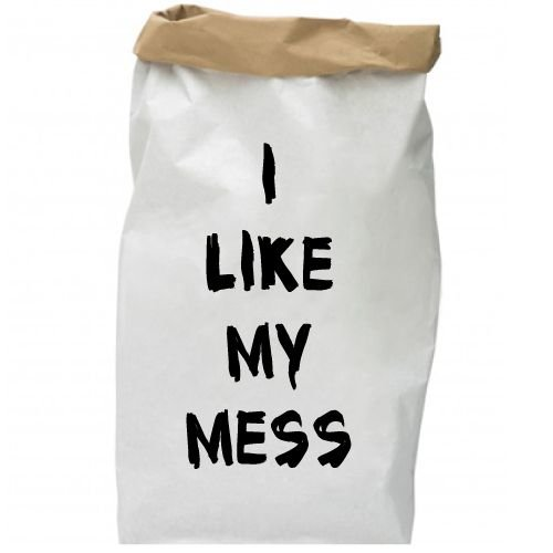 KIDZ DISTRICT I LIKE MY MESS PAPER BAG