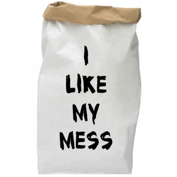 I LIKE MY MESS PAPER BAG