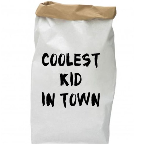 COOLEST KID IN TOWN PAPER BAG