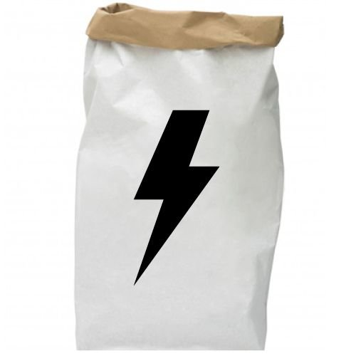 KIDZ DISTRICT THUNDER PAPER BAG
