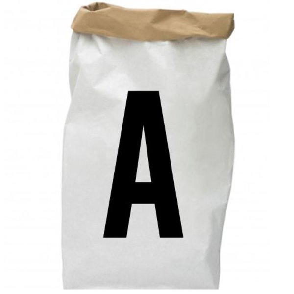 INITIAL PAPER BAG (GEPERSONALISEERD)