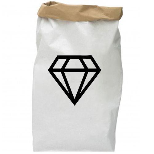 KIDZ DISTRICT DIAMOND PAPER BAG