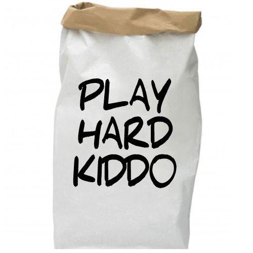KIDZ DISTRICT PLAY HARD KIDDO PAPER BAG