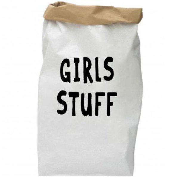 GIRLS STUFF PAPER BAG