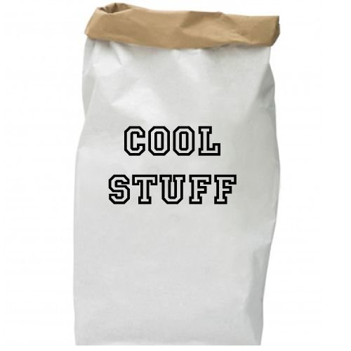 KIDZ DISTRICT COOL STUFF PAPER BAG