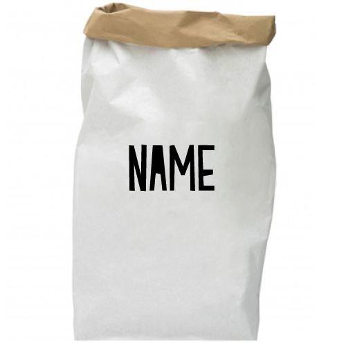 KIDZ DISTRICT NAME PAPER BAG (GEPERSONALISEERD)