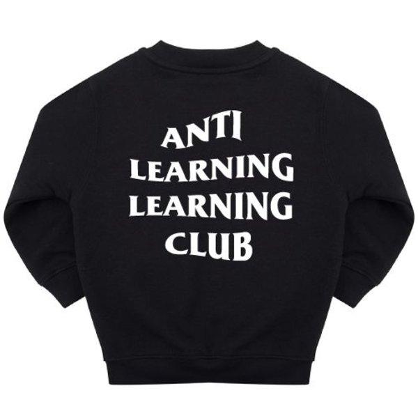 ANTI LEARNING CLUB SWEATER