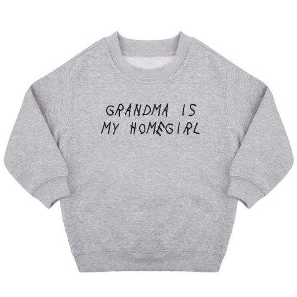 GRANDMA IS MY HOMEGIRL SWEATER