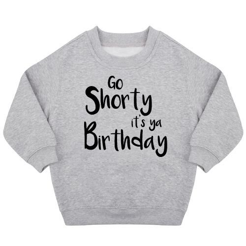 KIDZ DISTRICT IT'S YA BIRTHDAY SWEATER