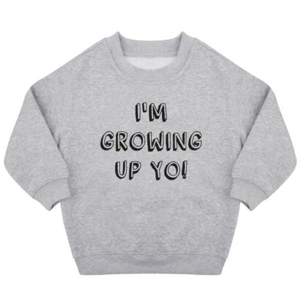GROWING UP BIRTHDAY SWEATER