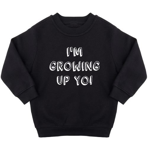KIDZ DISTRICT GROWING UP BIRTHDAY SWEATER