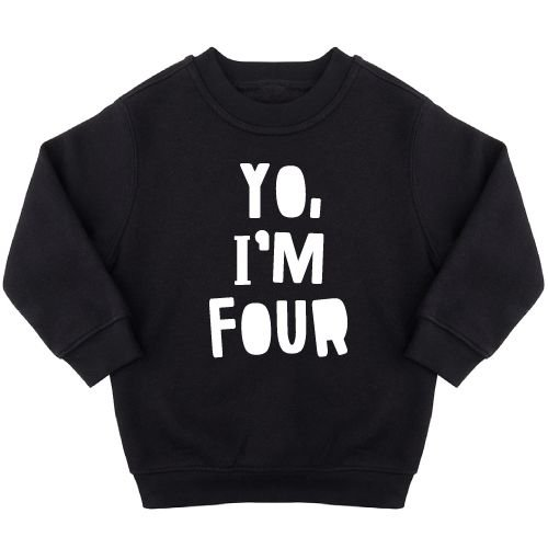 KIDZ DISTRICT YO BIRTHDAY SWEATER