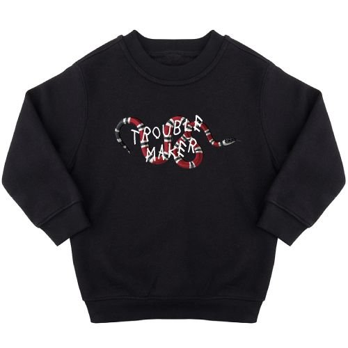 KIDZ DISTRICT TROUBLE MAKER SNAKE SWEATER