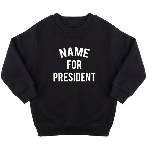 KIDZ DISTRICT PRESIDENT SWEATER (GEPERSONALISEERD)
