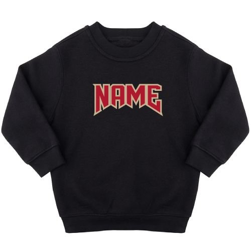 KIDZ DISTRICT ROCK NAME SWEATER (GEPERSONALISEERD)