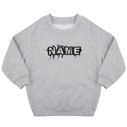 KIDZ DISTRICT THUNDER NAME SWEATER (GEPERSONALISEERD)