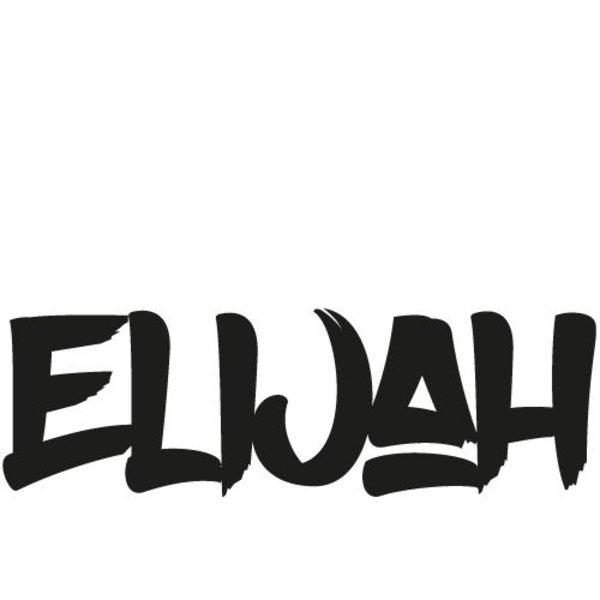 ELIJAH NAAMSTICKER (GEPERSONALISEERD)