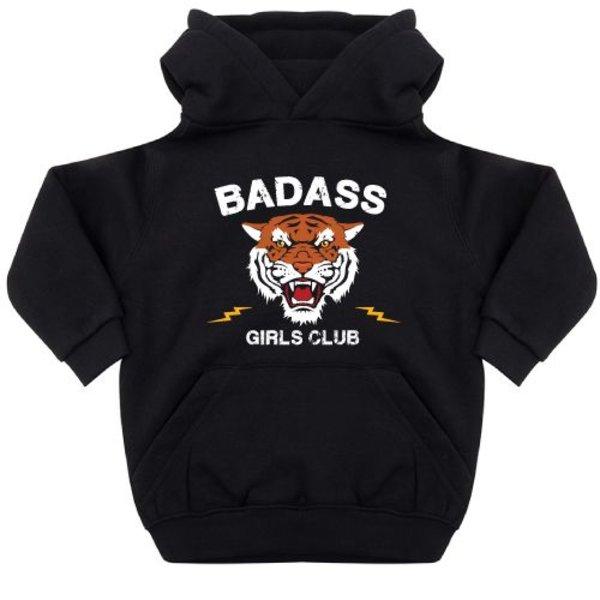 BADASS GIRLS CLUB KIDS HOODIE