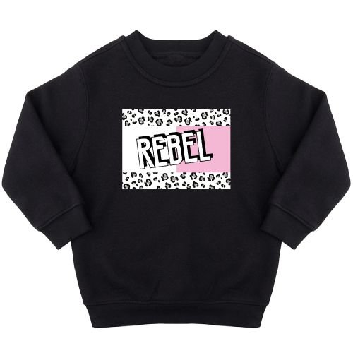 KIDZ DISTRICT REBEL BLOCK SWEATER