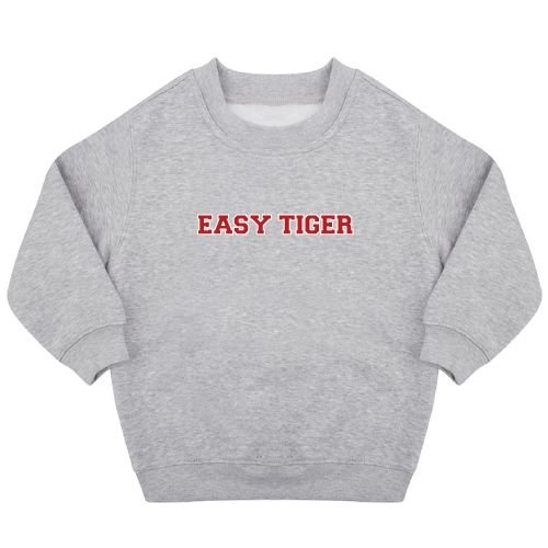KIDZ DISTRICT EASY TIGER SWEATER