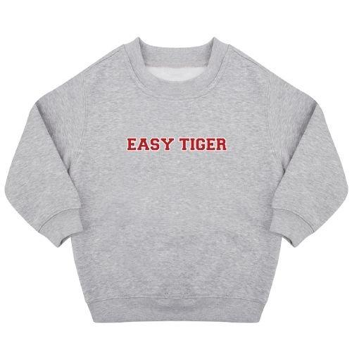 KIDZ DISTRICT EASY TIGER SWEATER