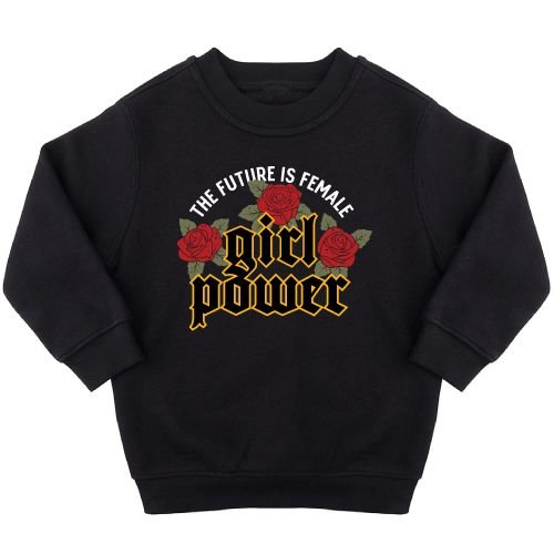 KIDZ DISTRICT THE FUTURE IS FEMALE SWEATER