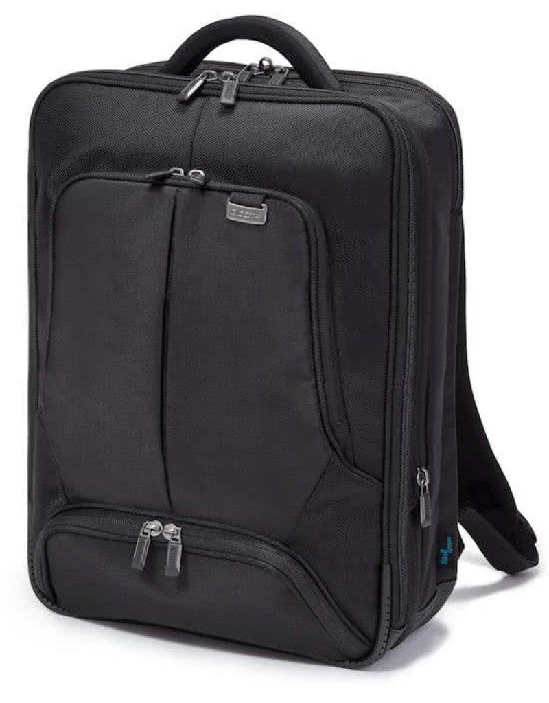 Dicota Backpack Pro 15 tot 17.3 inch Laptop Rugzak Zwart